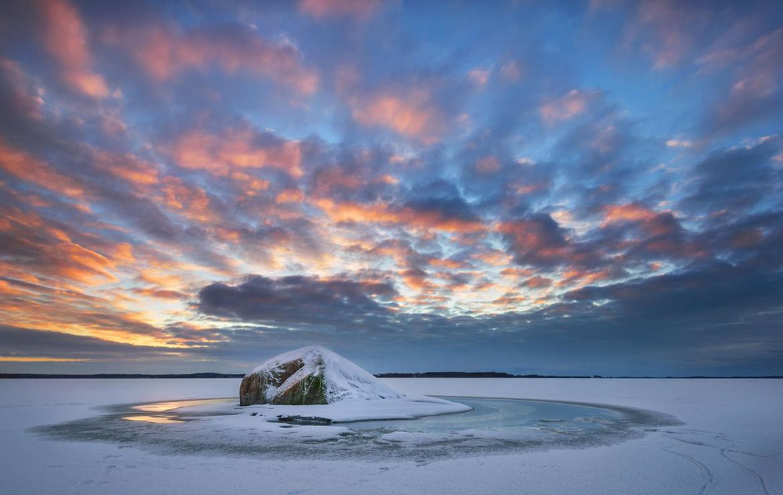 Fotograf Insel Usedom Sonnenuntergang Achterwasser Strand Landschaftsfoto Pudagla