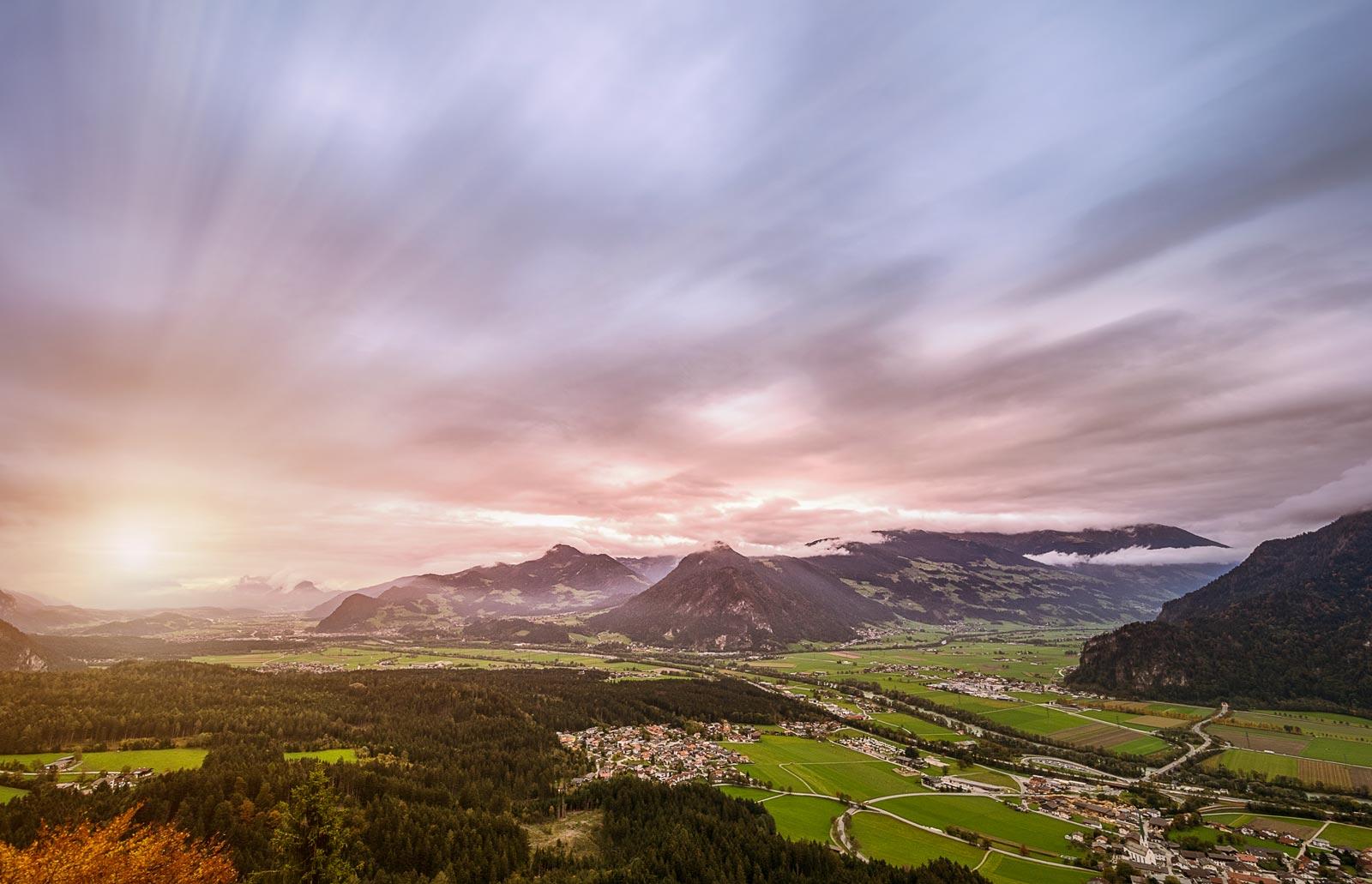 Panorama Kanzelkehre