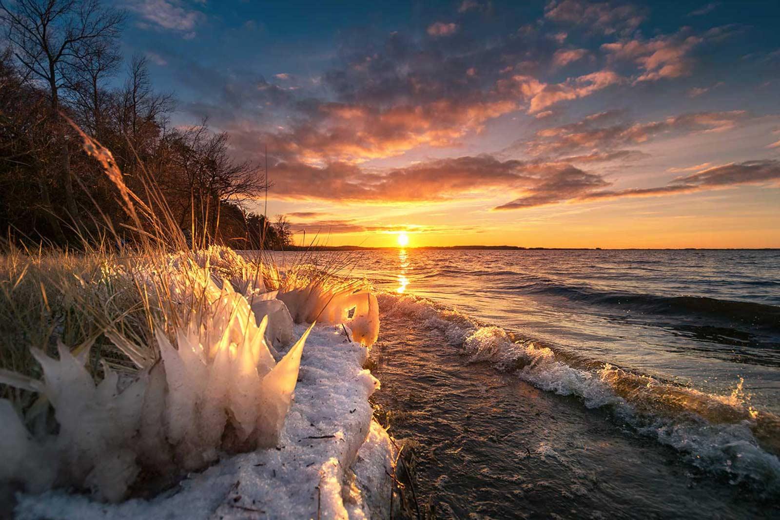 Insel Usedom Fotograf Landschaft Achterwasser Strand