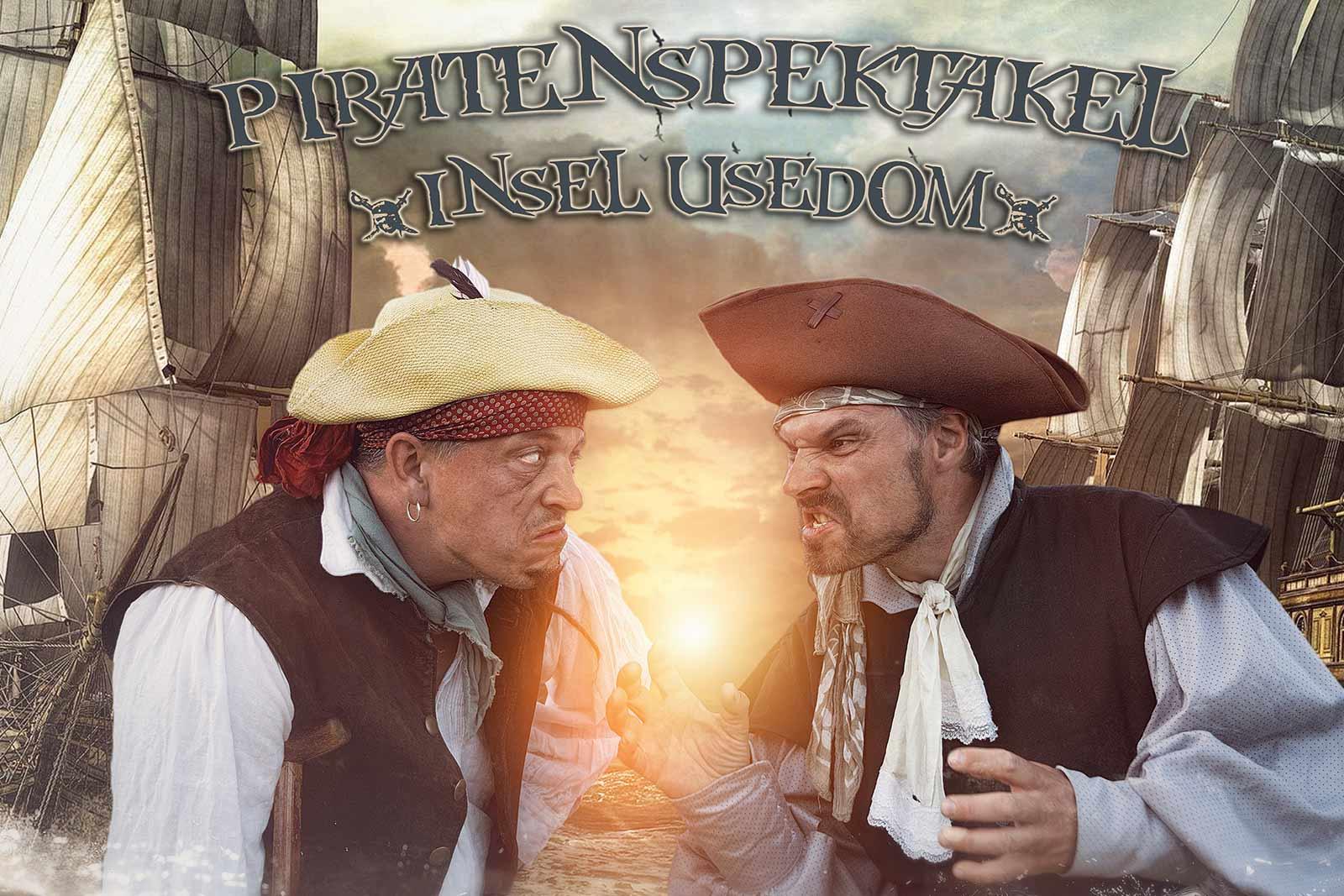 Digital Art Werbung Piraten Fotograf Insel Usedom Werbung